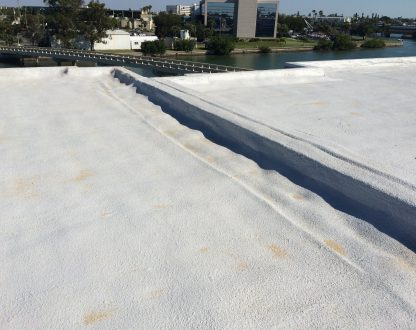 Because The Spray Foam Is Self Adhering And Sprayed In Place, There Are No  Seams, Channels, Complex Flashings, Or Overlapping Edges For Water To Seep  ...