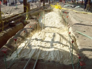 Spray Foam Products for Geotechnical Applications