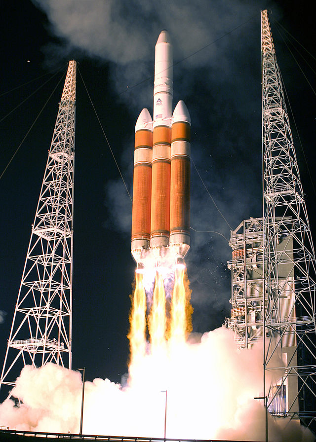 Orion Spacecraft Launching