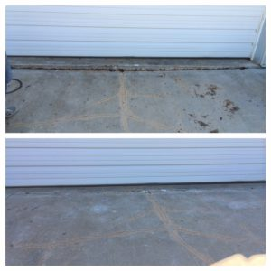 Garage Entry Before & After