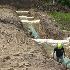 Pipeline Trench Breakers