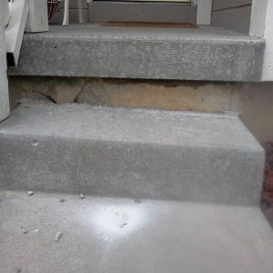 Residential COncrete Steps before