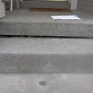 Residential Concrete Steps AFTER